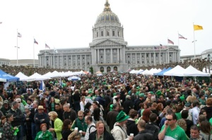 St. Patrick's Day in SF