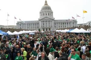 St. Patrick's Day in SF
